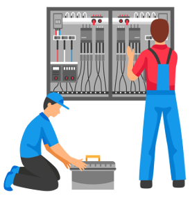 Overseas electrician